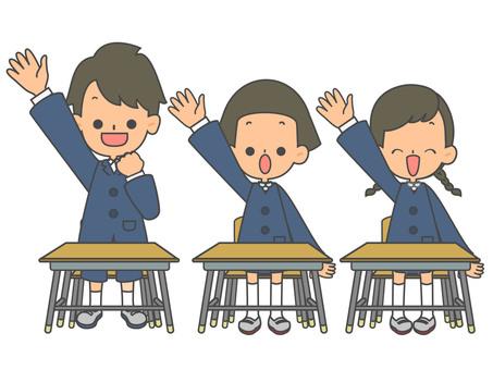兒童椅長袖