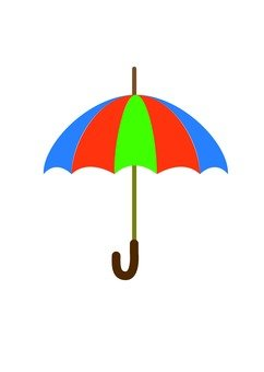 화려한 우산