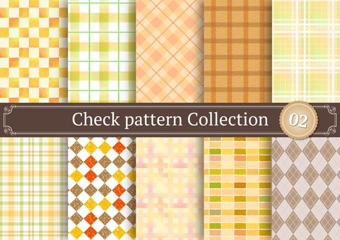 체크 패턴 02