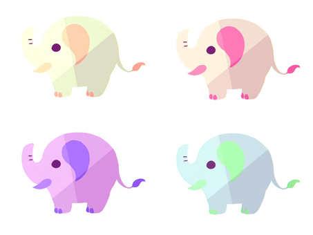 Neon's elephant