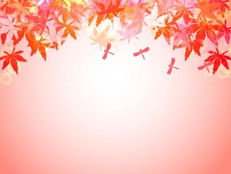 Autumn leaves frame 3