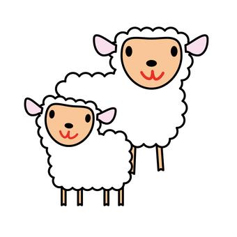 Animals - Sheeps and Children-01