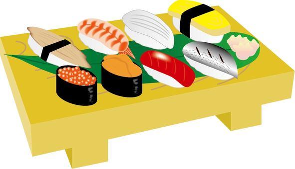 Sushi Geta & Sushi