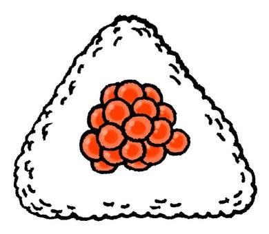 Ikura rice ball