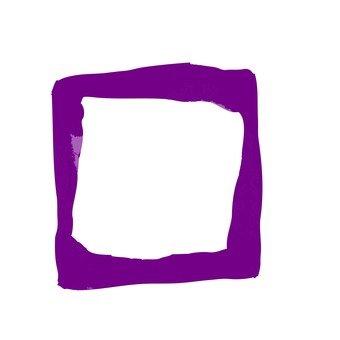 Japanese style flower (purple)