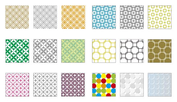 Swatch Pattern Series Wallpaper-like pattern