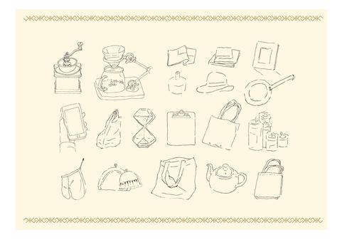 Ballpoint pen drawing _ miscellaneous goods