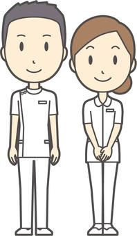男女セット看護師-030-全身
