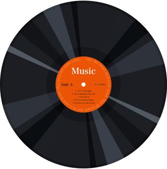 레코드 LP 판