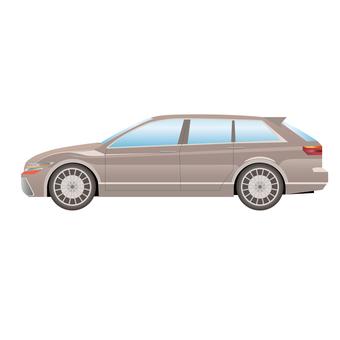 Car side 8 station wagon