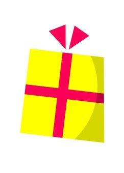 선물 (노란색)
