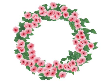 Tsunbaru gear pink wreath