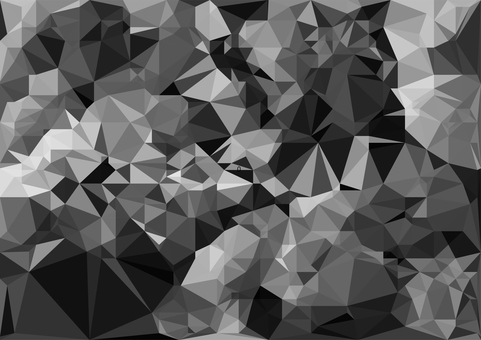 Black polygon 3d vector background material