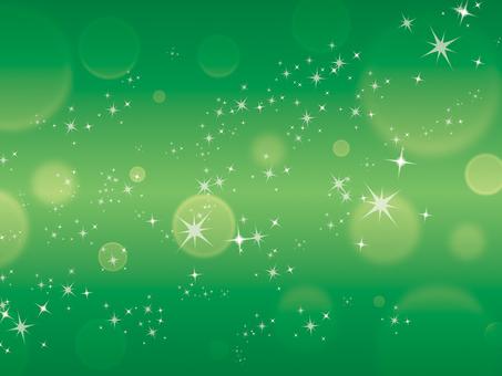 Texture starry sky green