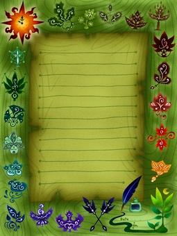 木葉固定文具