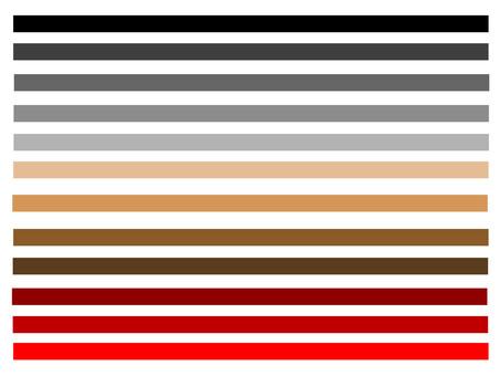 五顏六色的線網顏色
