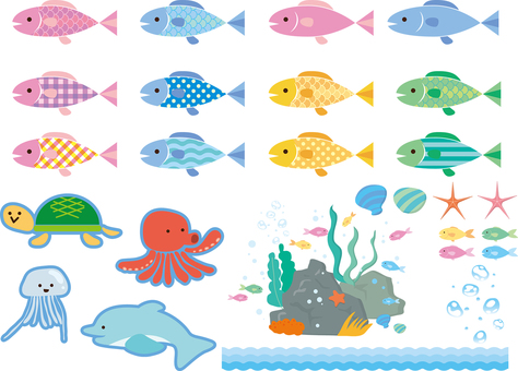 Ocean companion illustration