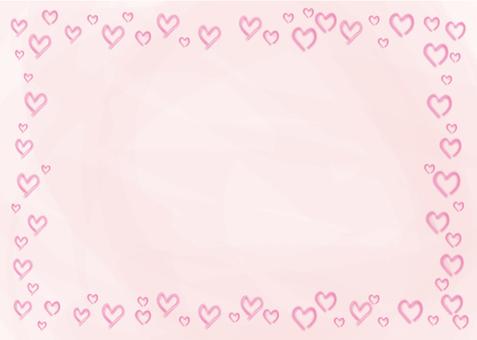 Watercolor Heart (pink)