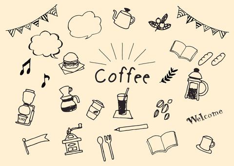 カフェ素材
