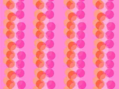 Pink type circle pattern