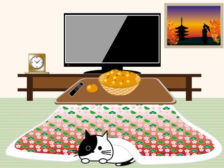 Kotatsu and cats