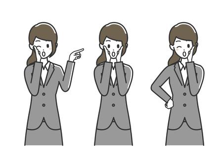 Female upper body suit 3