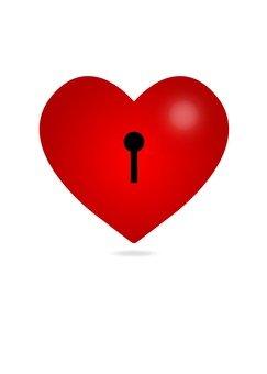 Heart icon (keyhole)