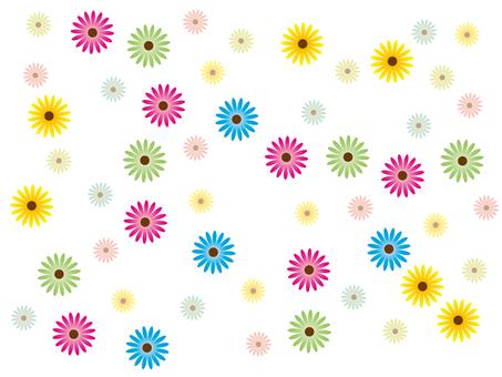 壁紙・花柄
