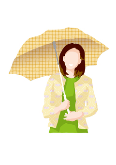 A sister of a parasol