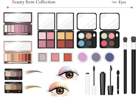 Cosmetic items eye makeup