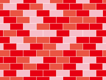 Colorful brick (red)
