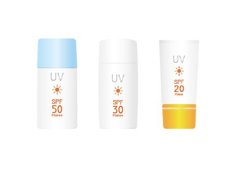 Various sunscreen