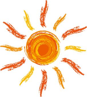 Painting sun