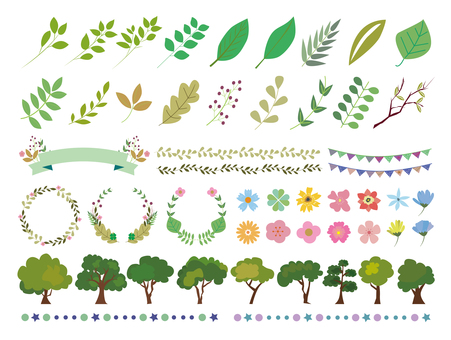 Plant material set