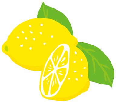 Lemon half <leaf>