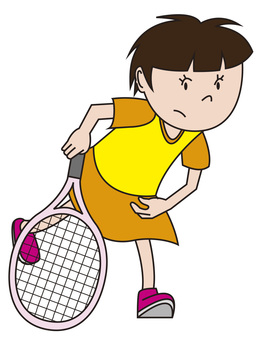 Tennis girl 2
