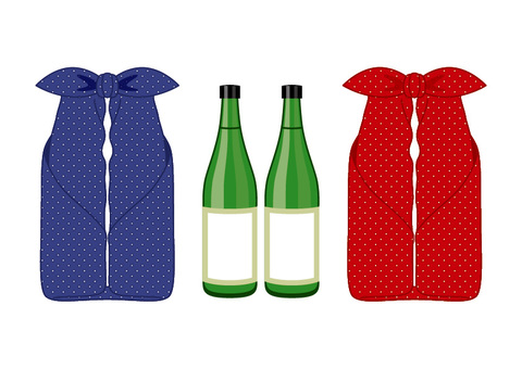 Bottle wrapping wrapping