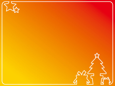 Frame (Christmas) Orange