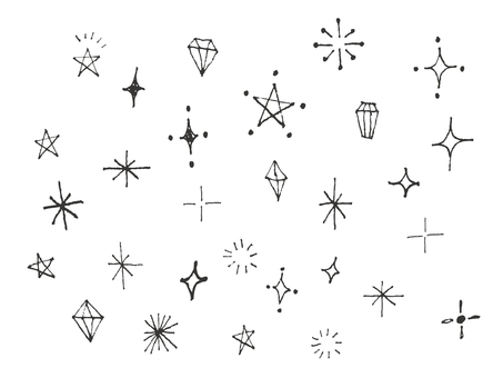 Handwritten sparkling material 2