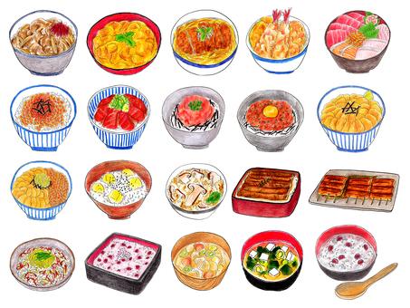 Japanese food summary 01