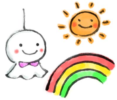 Rainbow Teru Teru 2
