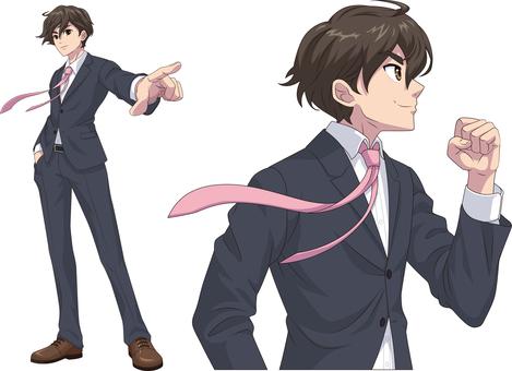 Salary man _ anime