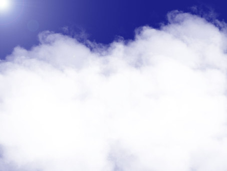 Simple cloud frame