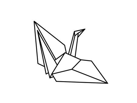 Folding crane B-1
