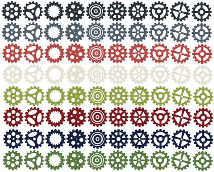 Various gears (16 ver)