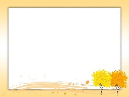 Tree Frame · Yellow