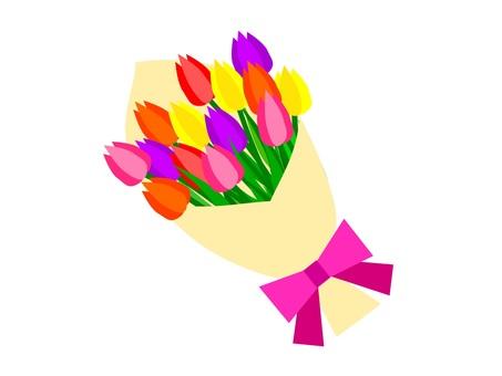 Bouquet of tulips bouquet