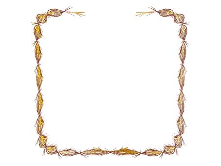 Decorative frame for earring 08