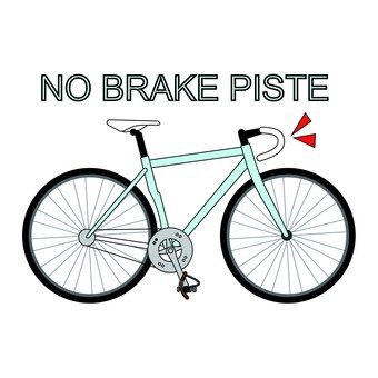 Bicycle No Brake Pist