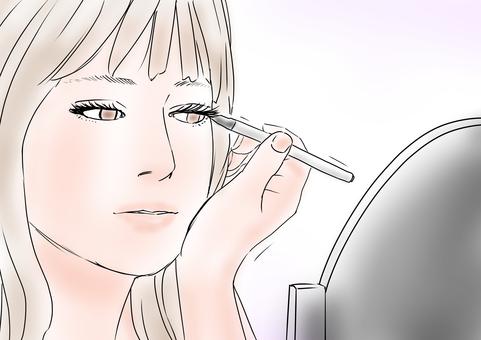 Women Makeup Eye Makeup